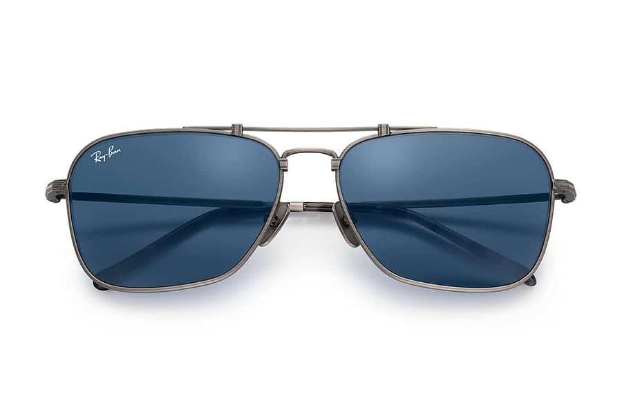 Ray bans blue sunglasses