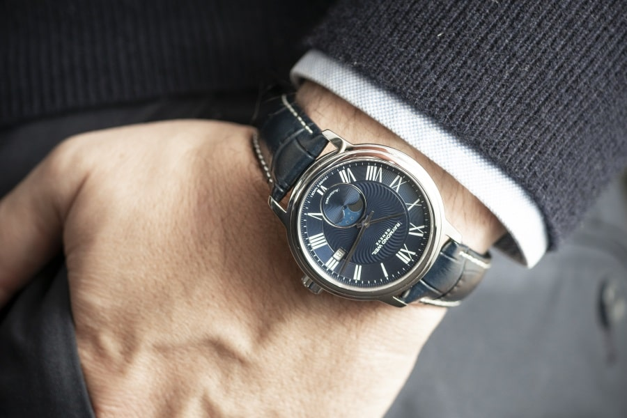 A Modern Moon Phase Timepiece from One of Switzerland's Best