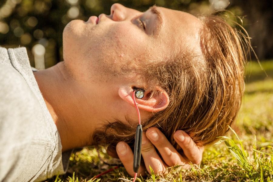 momentum free headphone use when sleep