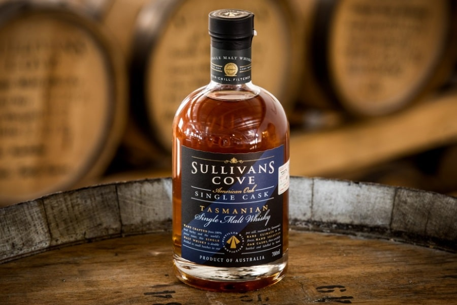 new single barrel whisky from sullivans cove