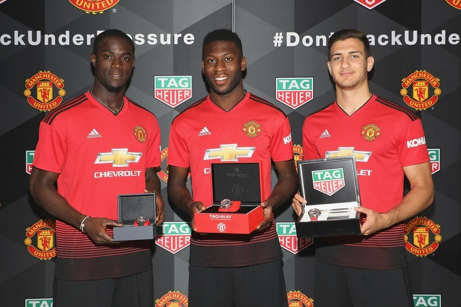 Manchester United players with watches