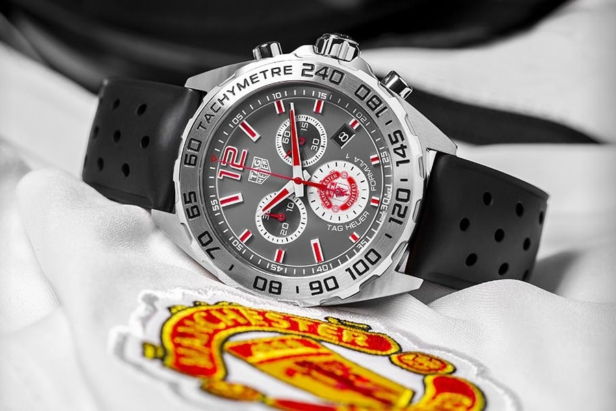 tag heuer manchester united watch