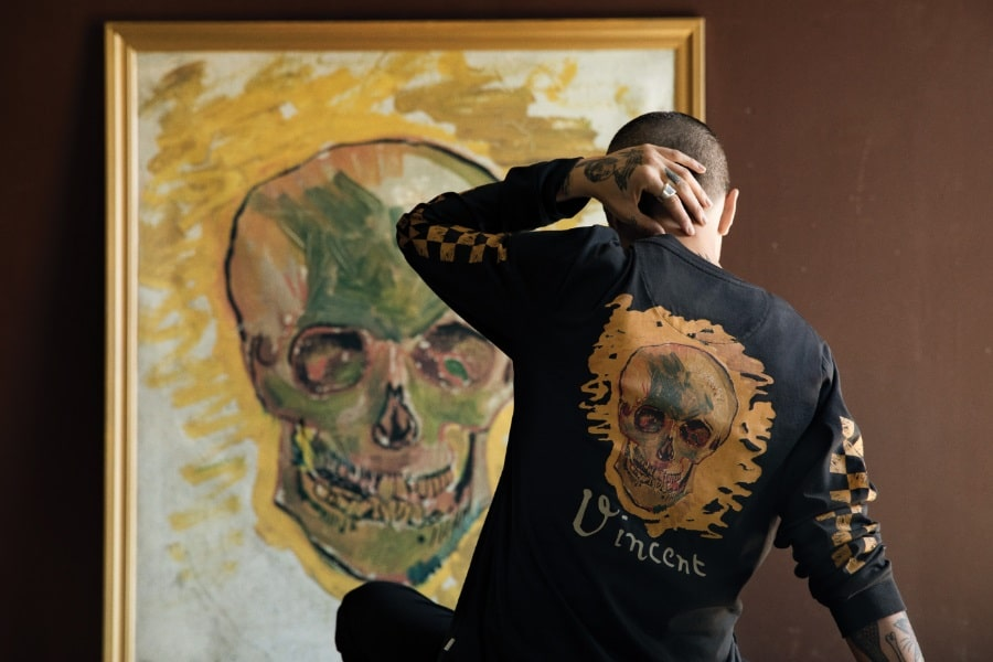 vincent van gogh inspired clothing