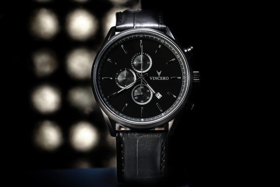 vincero watches black