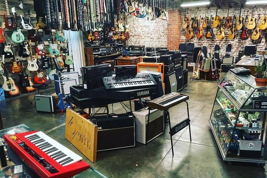 found sound shop interior