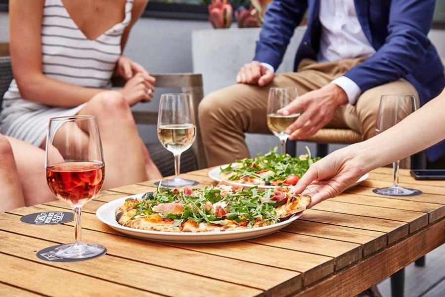 the light brigade pizza and wine
