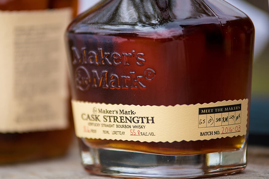 maker's mark cask strength best bourbon whiskey