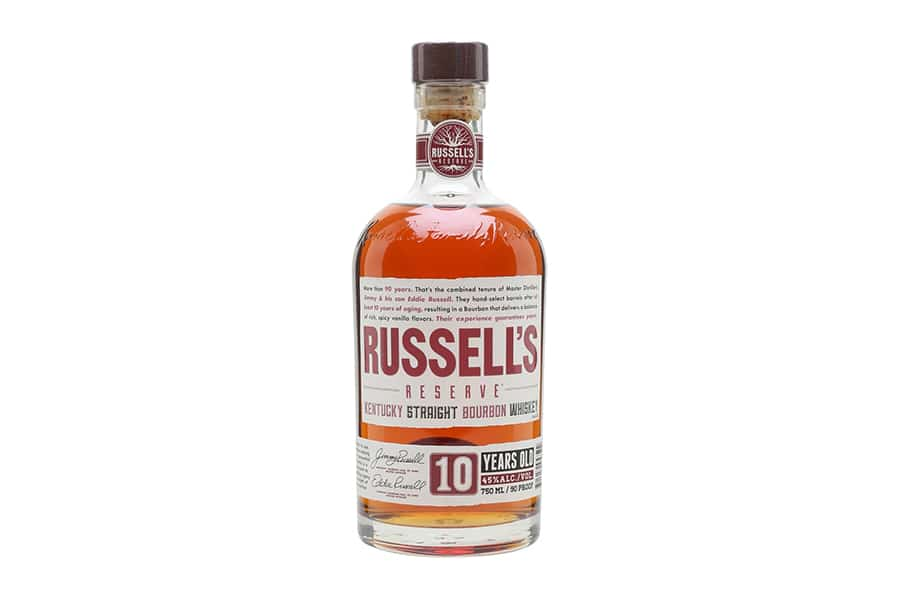 russell's reserve 10 year best bourbon whiskey
