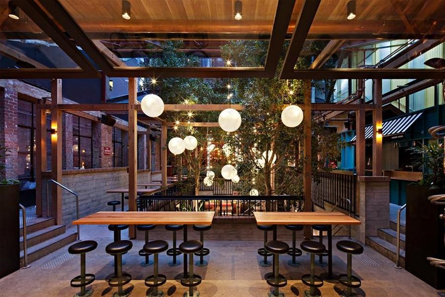 garden state hotel beer garden