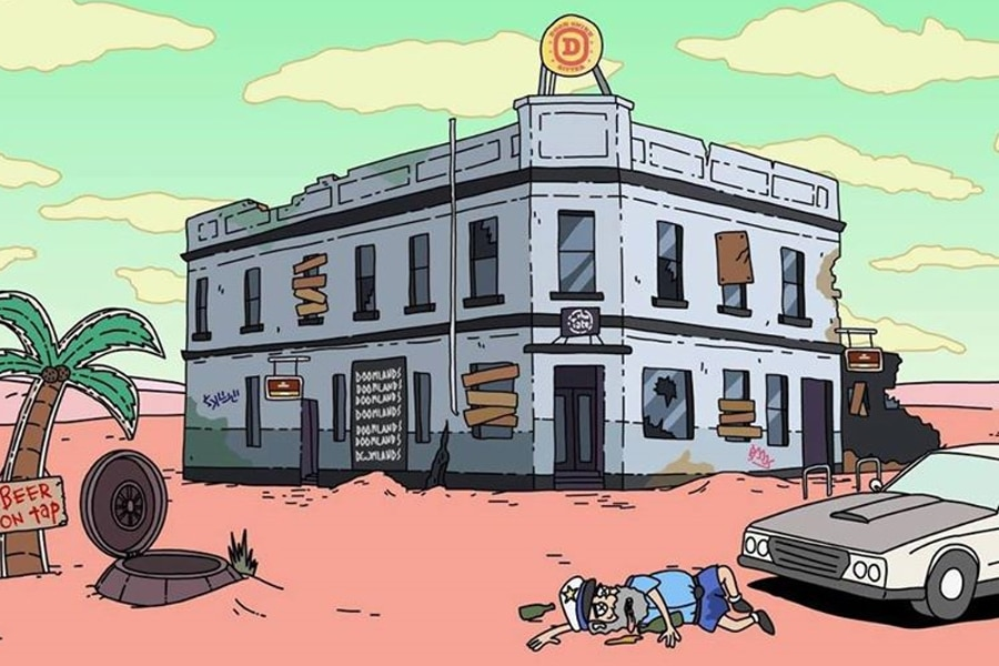 the tote hotel cartoon