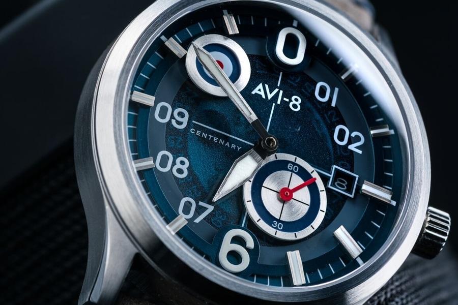 avi 8 centenary flyboy watch dials