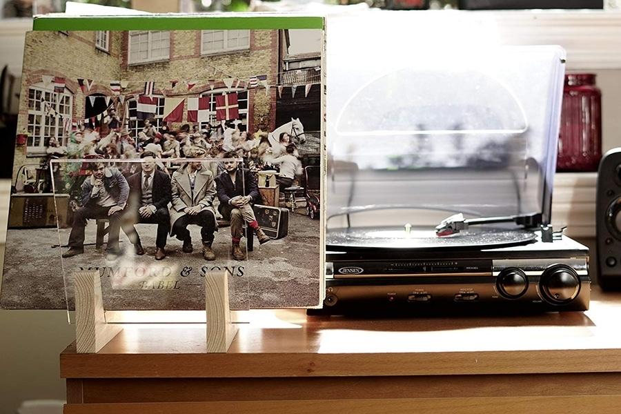 hudson hi fi desktop vinyl record storage