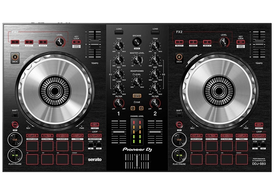 pioneer dj ddj sb3 dj controller