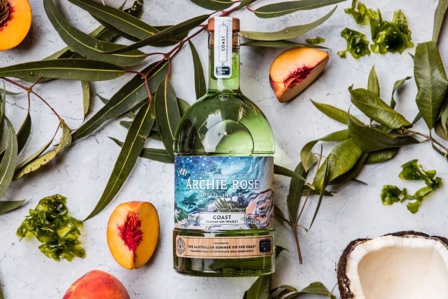 archie rose distilling upcoming gin project launched