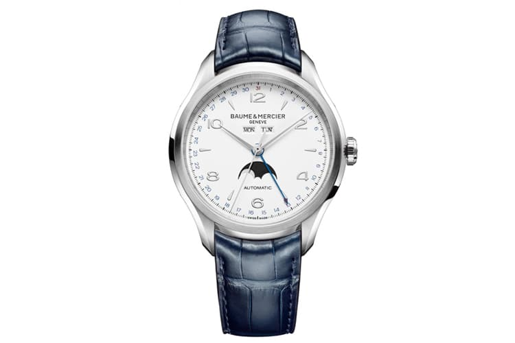 baume and mercier clifton complete calendar
