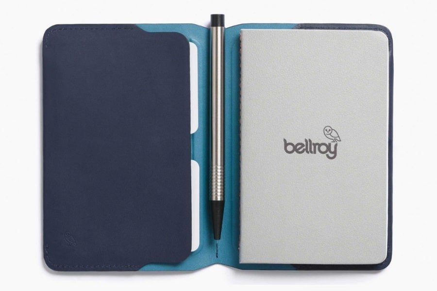 bellroy notebook cover blue
