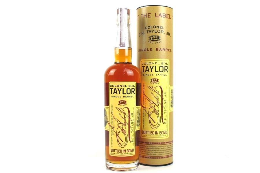 e h taylor single barrel bourbon whiskey