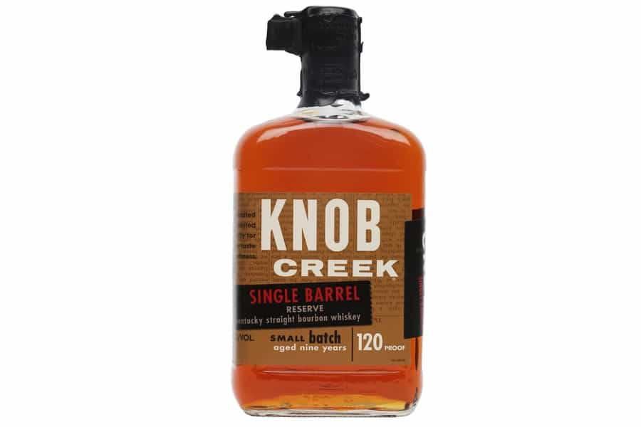 knob creek single barrel reserve best bourbon whiskey