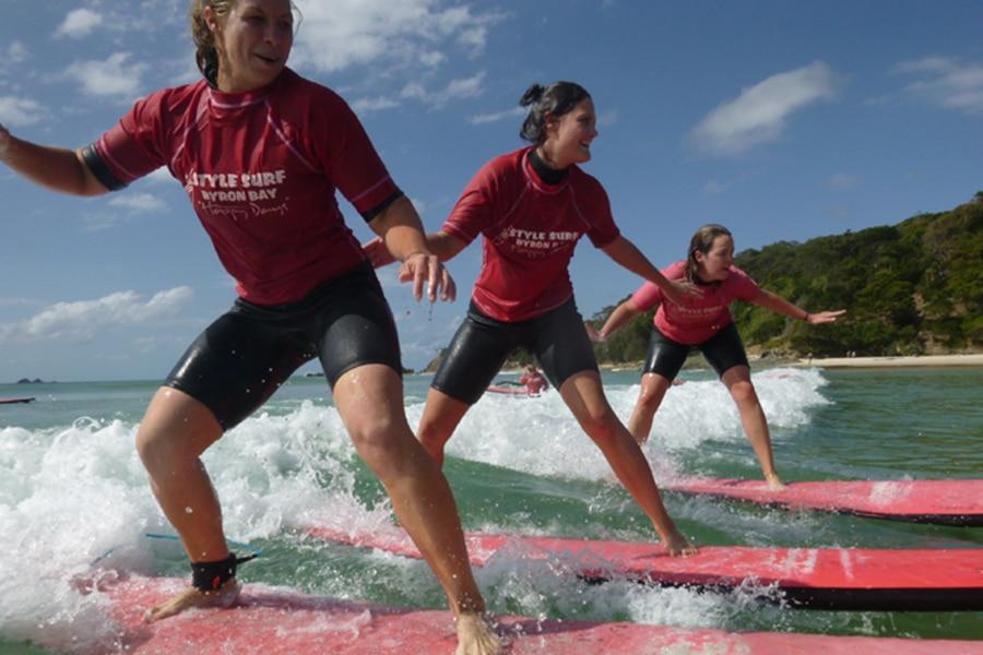 style surfing byron bay