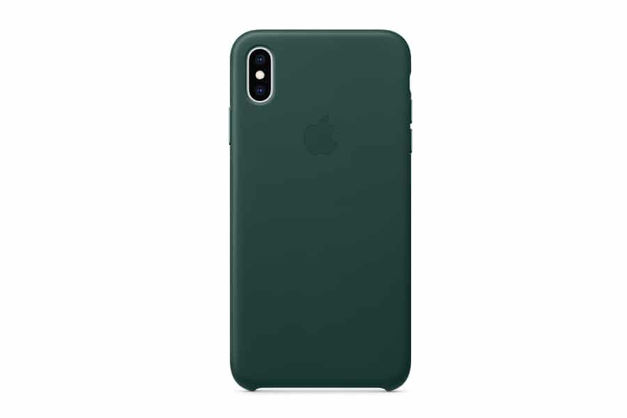 iphone xs max leather case blue