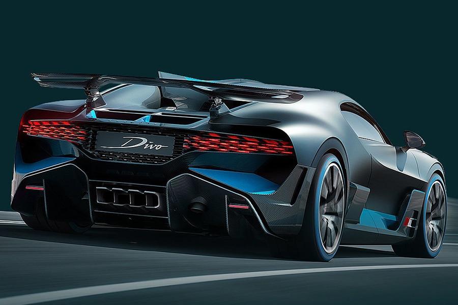 back view bugatti