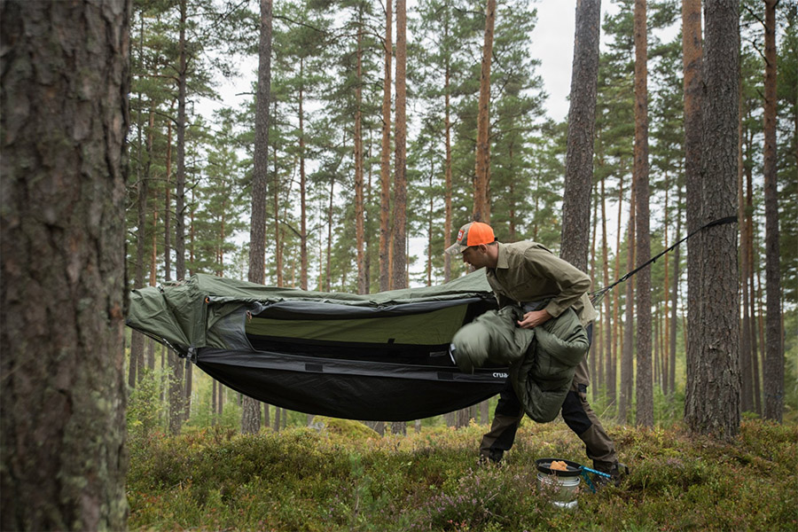The Crua Hybrid Camping Hammock has the Best of Both Worlds