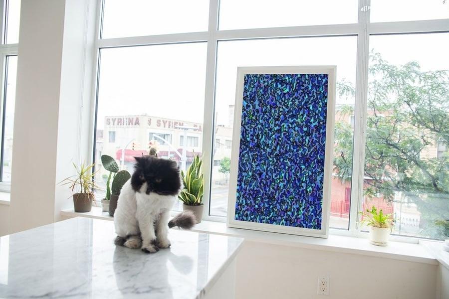 depict digital canvas art of work