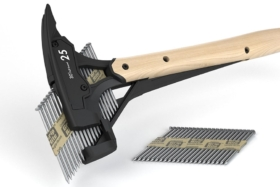 hammer with nail gun