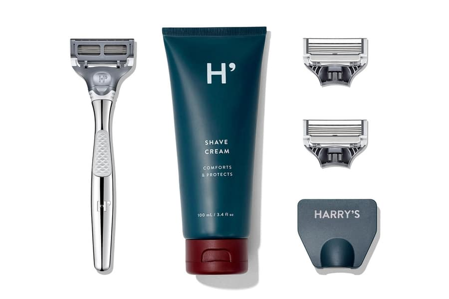 harry's winston set with 4 free blades