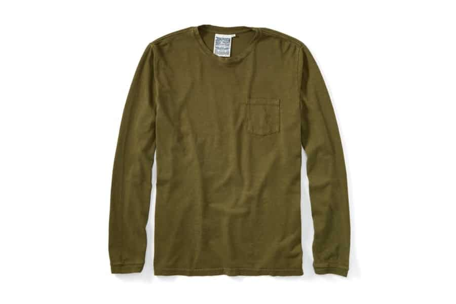 huckberry jungmaven baja long sleeve pocket tee