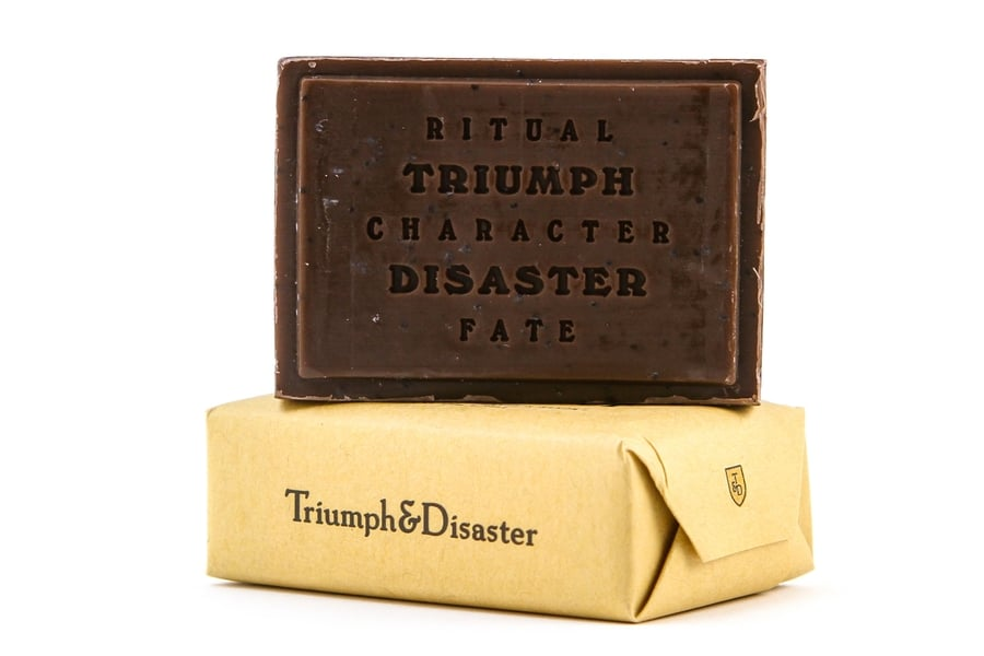 triumph and disaster shearer's soap one color