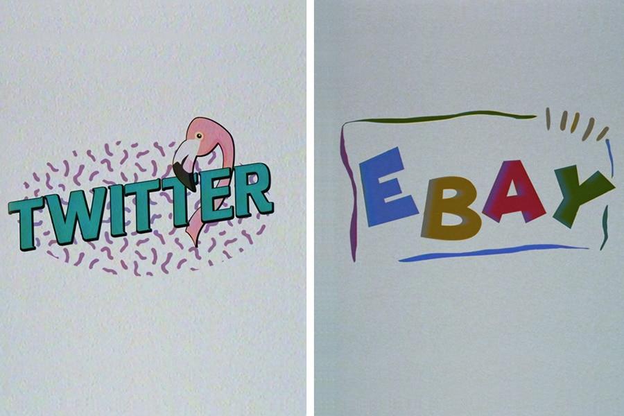 twitter and eBay 0s company logo