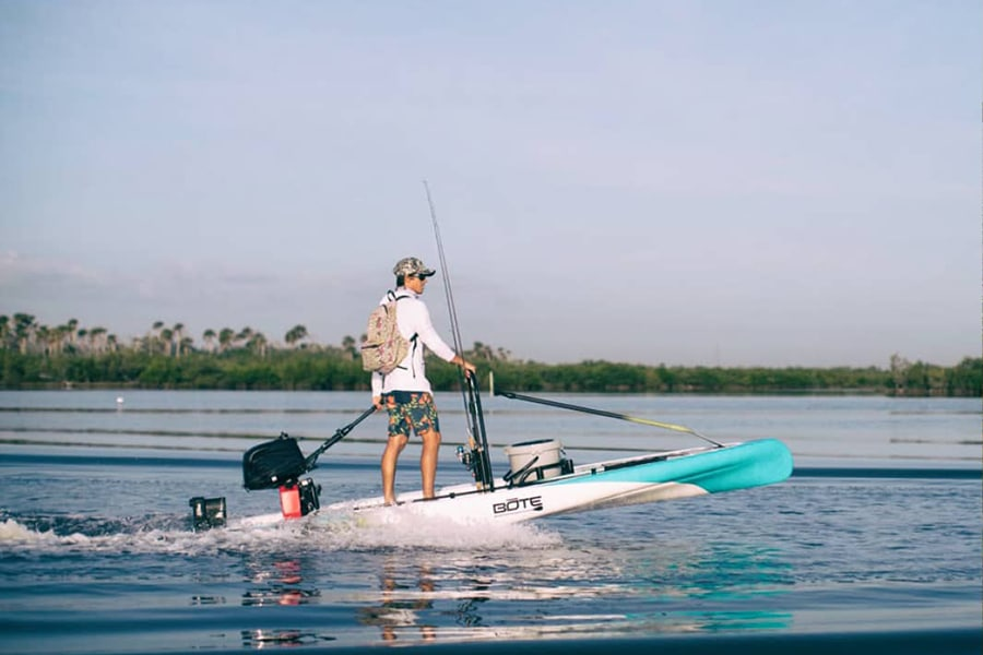 motorized inflatable paddle boards