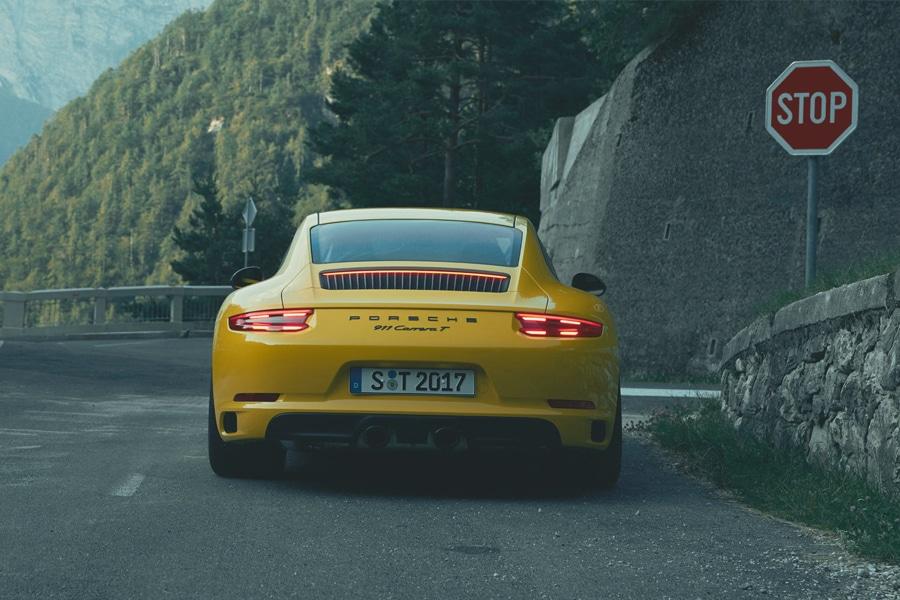 porsche 911 carrera t indicator light