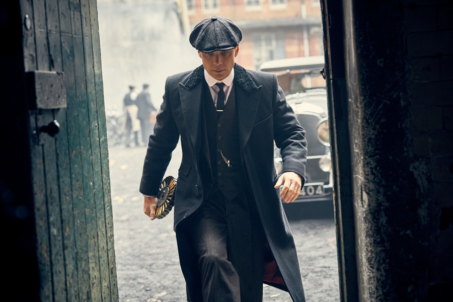 tom shelby peaky blinders series