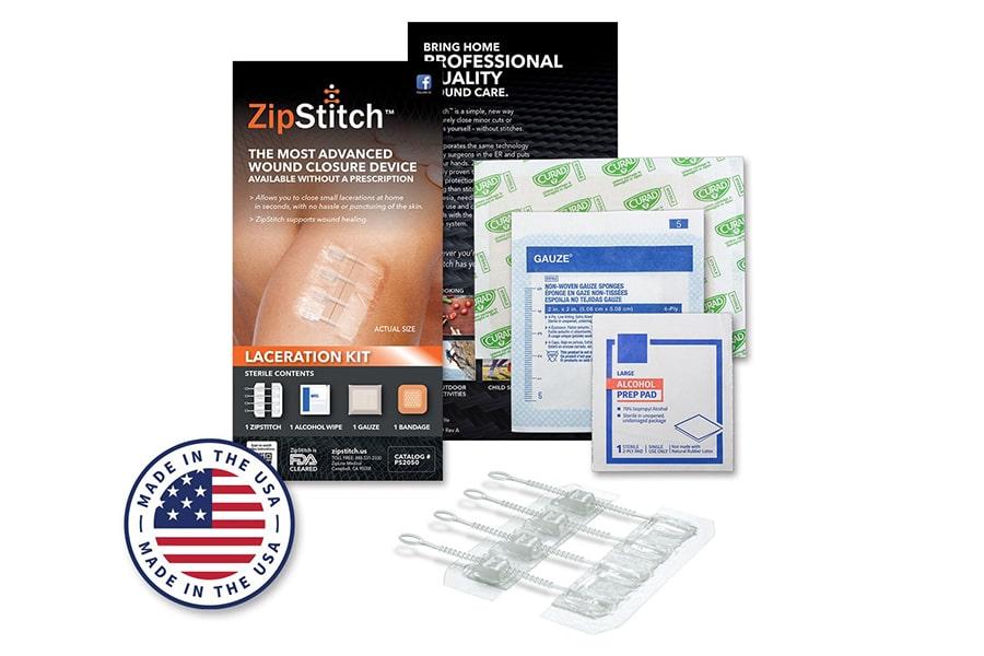 zip stitch emergency supply