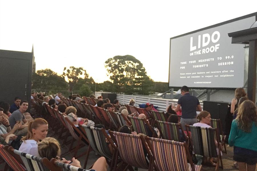 lido cinemas outdoor