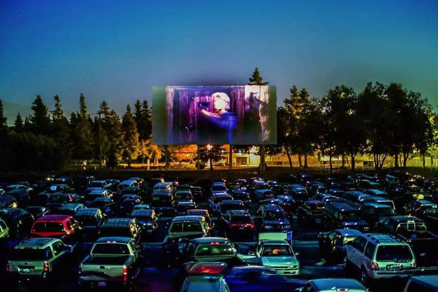 lunar drive in cinema