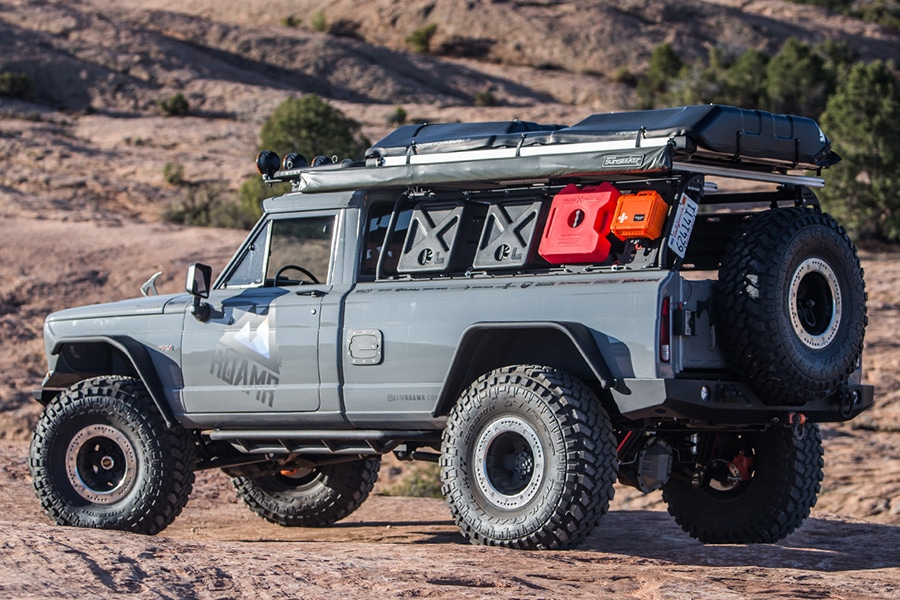 "1974 Jeep J20 Gladiator ""Tomahawk"" by RoamR Revives the ..."