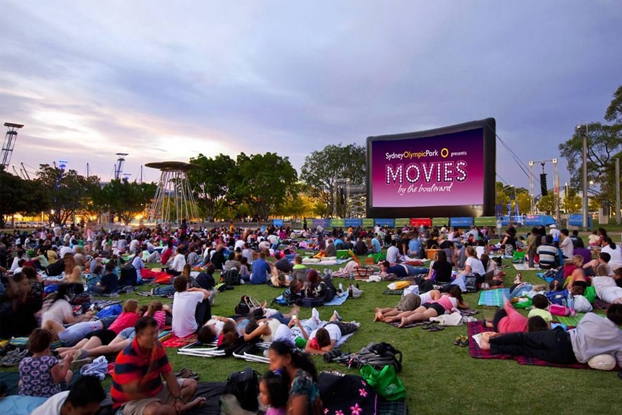 movies by the boulevard outdoor cinema