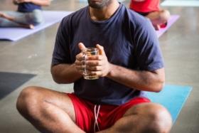 yoga and bottomless beer