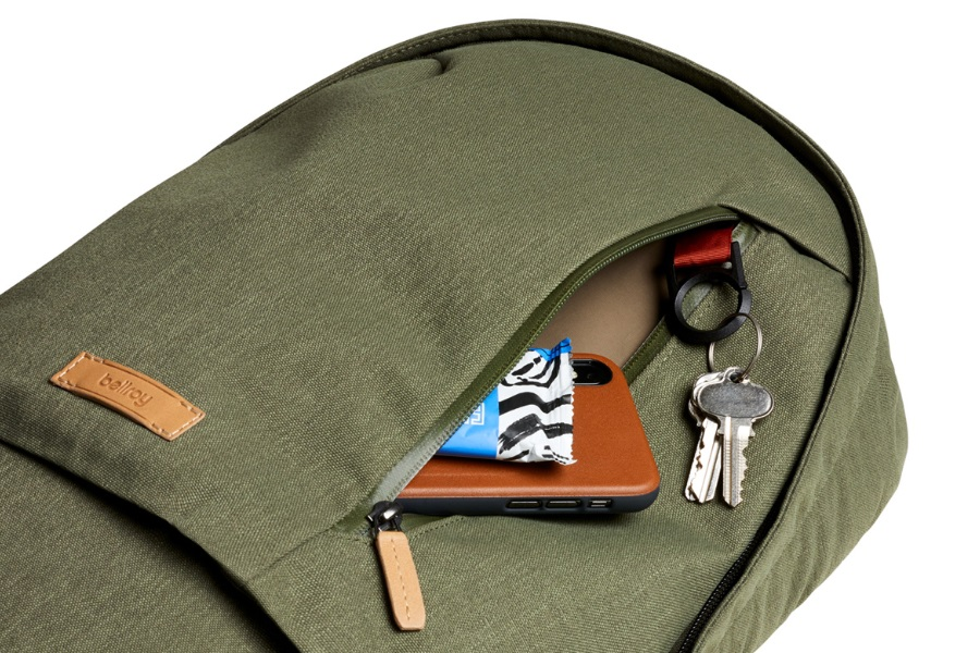 bellroy campus backpack quick access pocket
