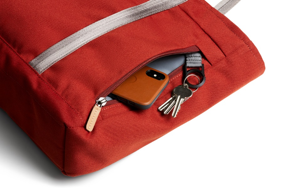 bellroy tote quick access pocket keys