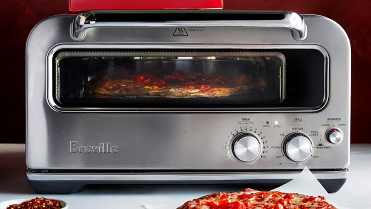 You Wanna Pizza Me? Check out the Breville Smart Oven Pizzaiolo