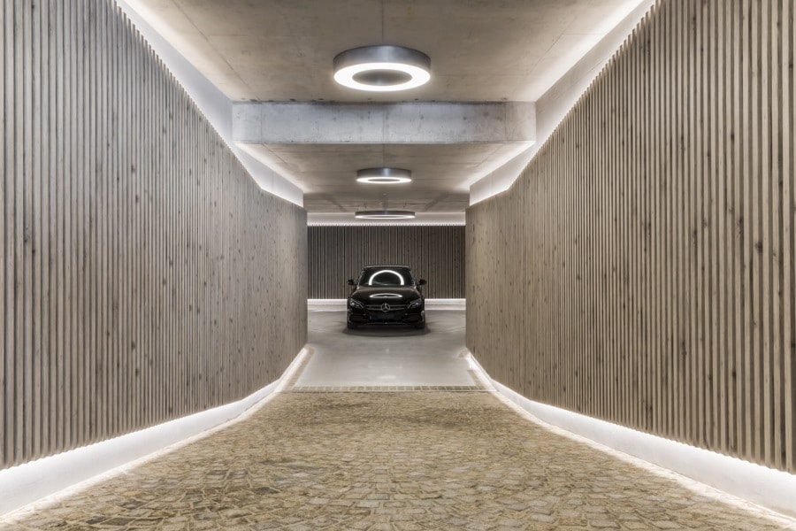 underground garage sydney entrance