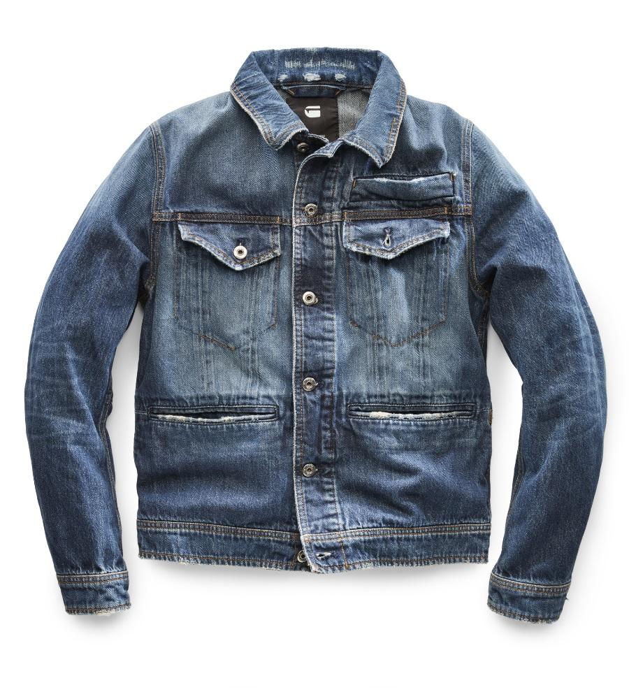 G Star Raw Jaden Smith denim jacket front