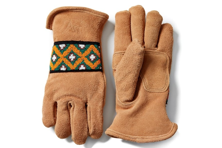 astis the yellowstone short cuff glove