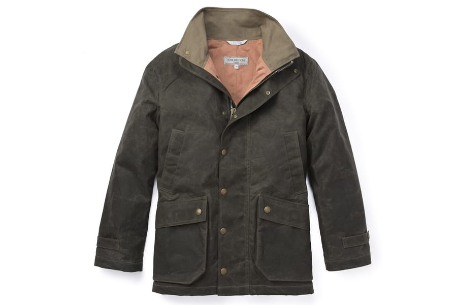 tom beckbe tensaw jacket in hardwood