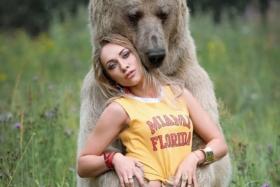 russian bear has become an instagram sensation