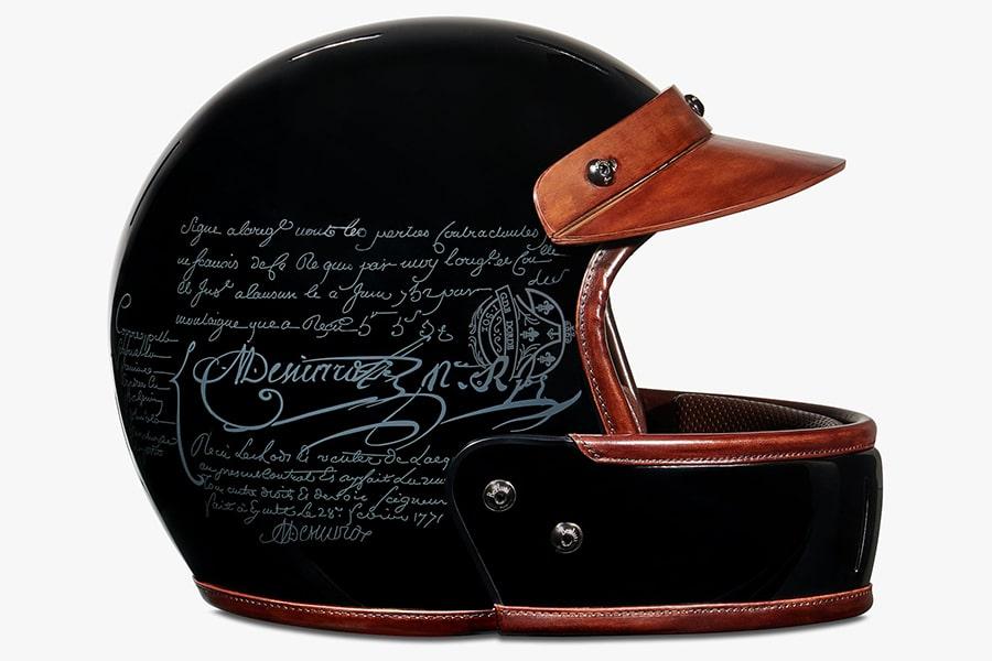 right side view berluti helmet